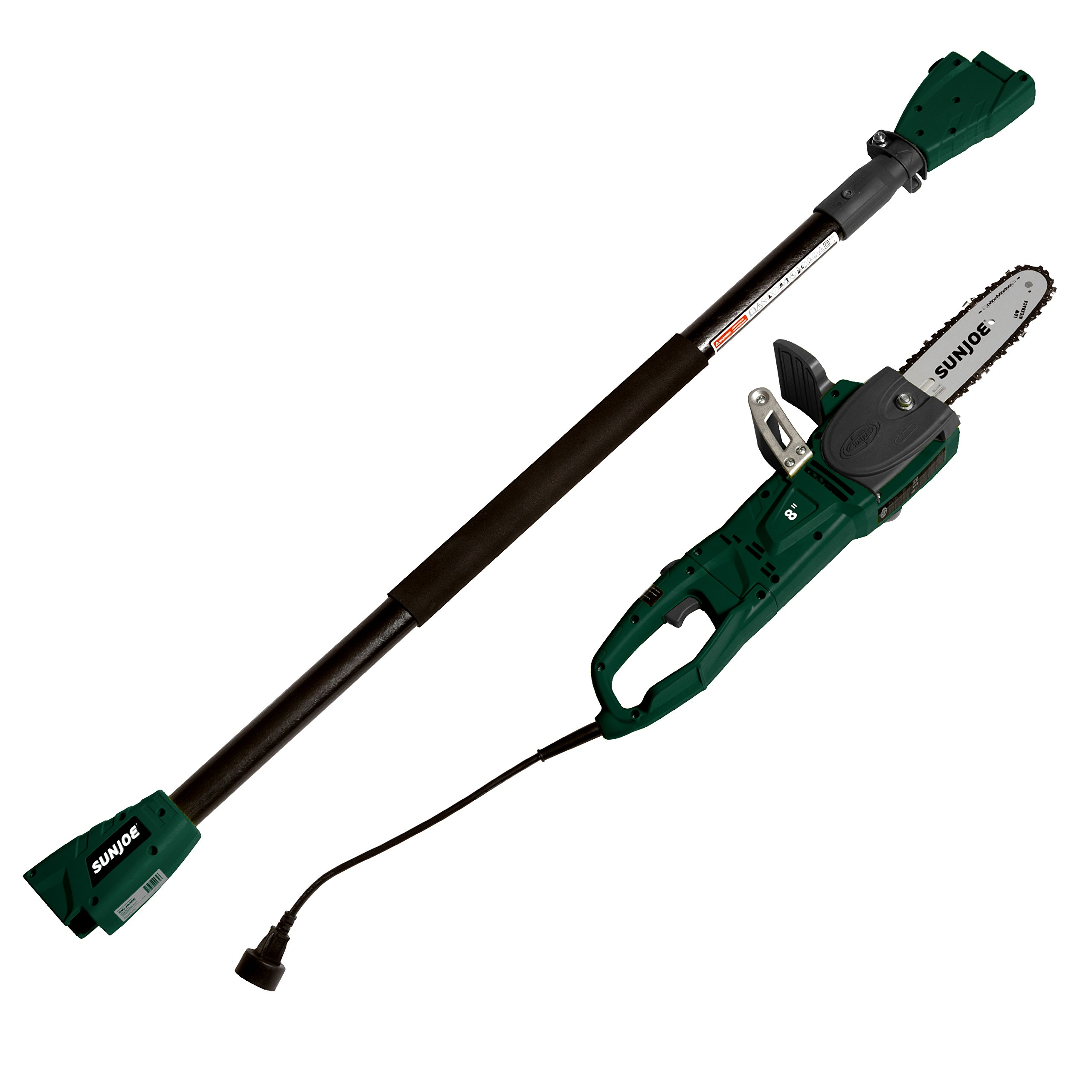Sun Joe SWJ806E-HTG Electric Convertible 2-in-1 8'' Pole Chain Saw