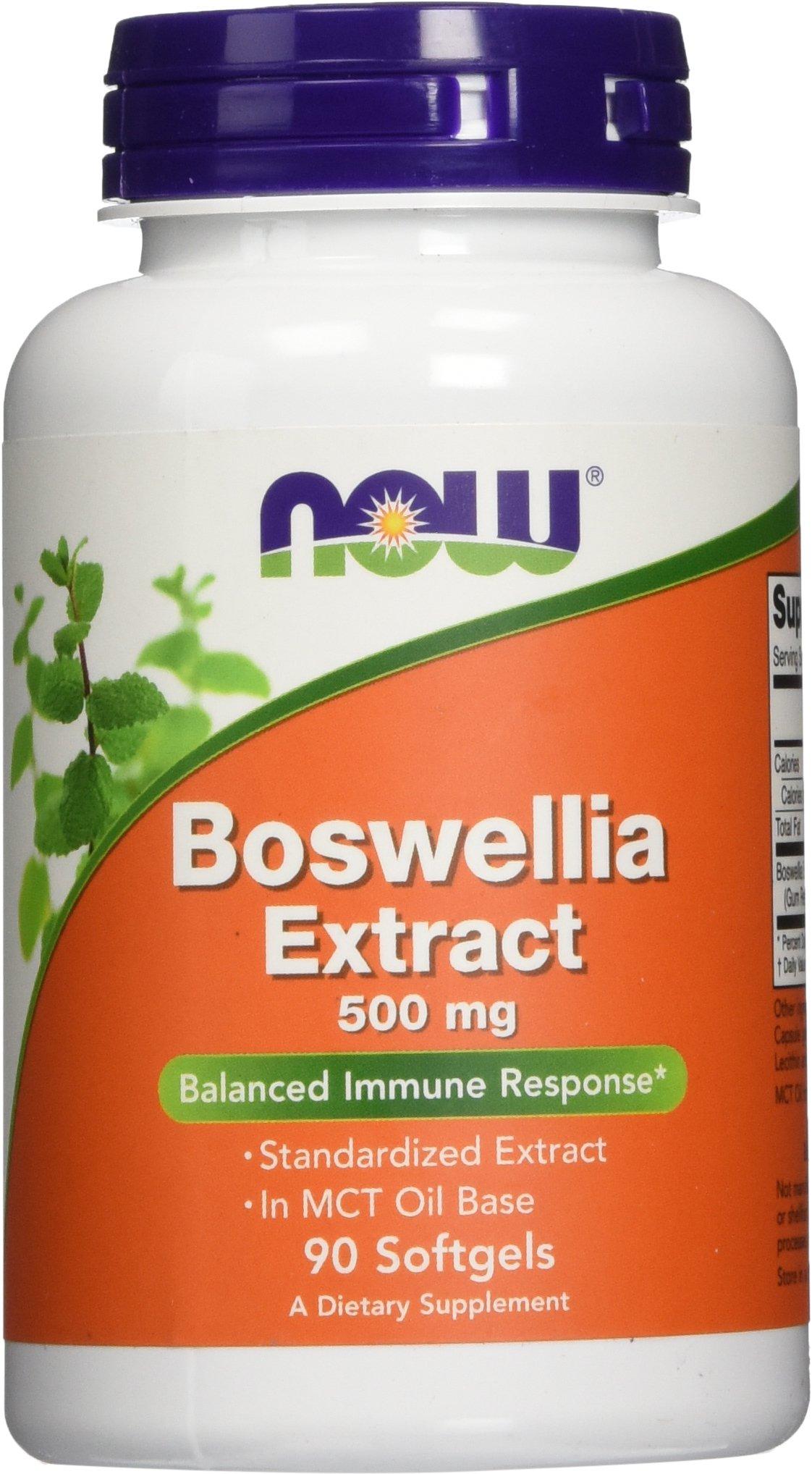 NOW Boswellia Extract 500 mg,90 Softgels