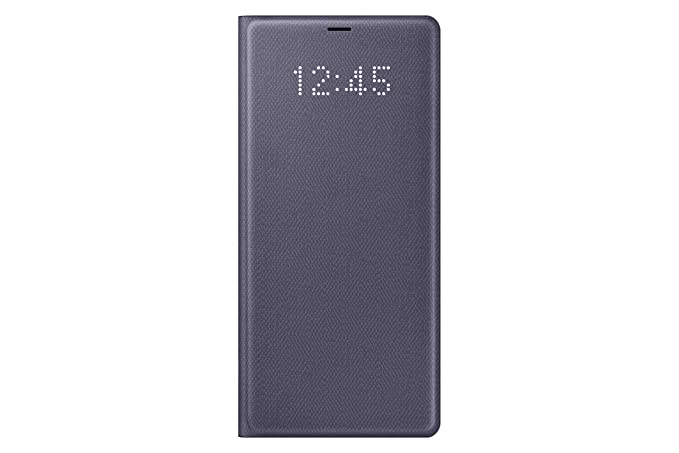the best attitude 41e84 b2b61 Samsung Galaxy Note 8 / Note8 LED View Wallet Case, Orchid Gray