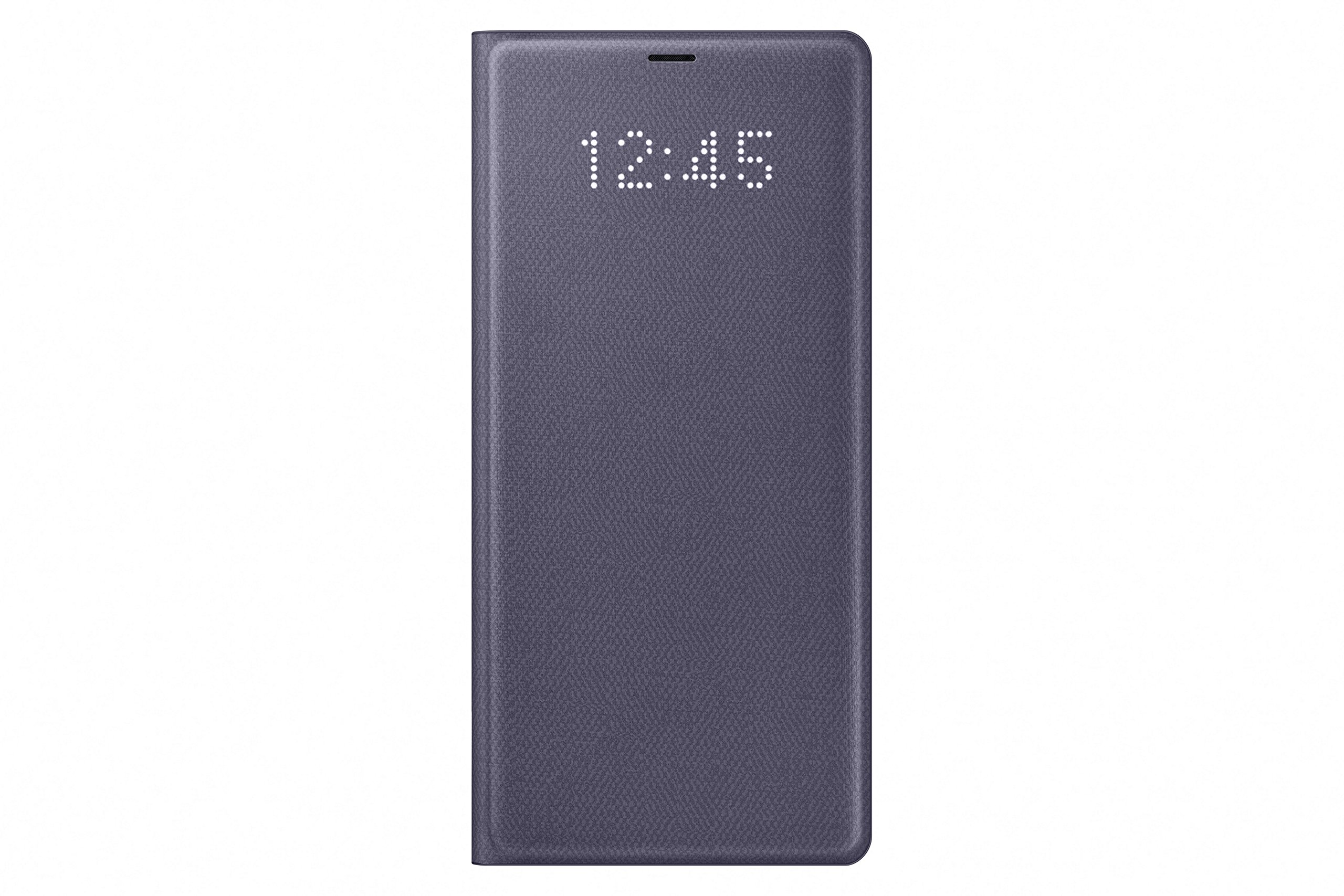 Samsung Galaxy Note 8 / Note8 LED View Wallet Case, Orchid Gray