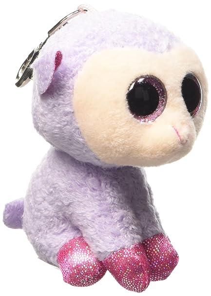 Ty Beanie Boo Lilli - Purple Lamb Clip