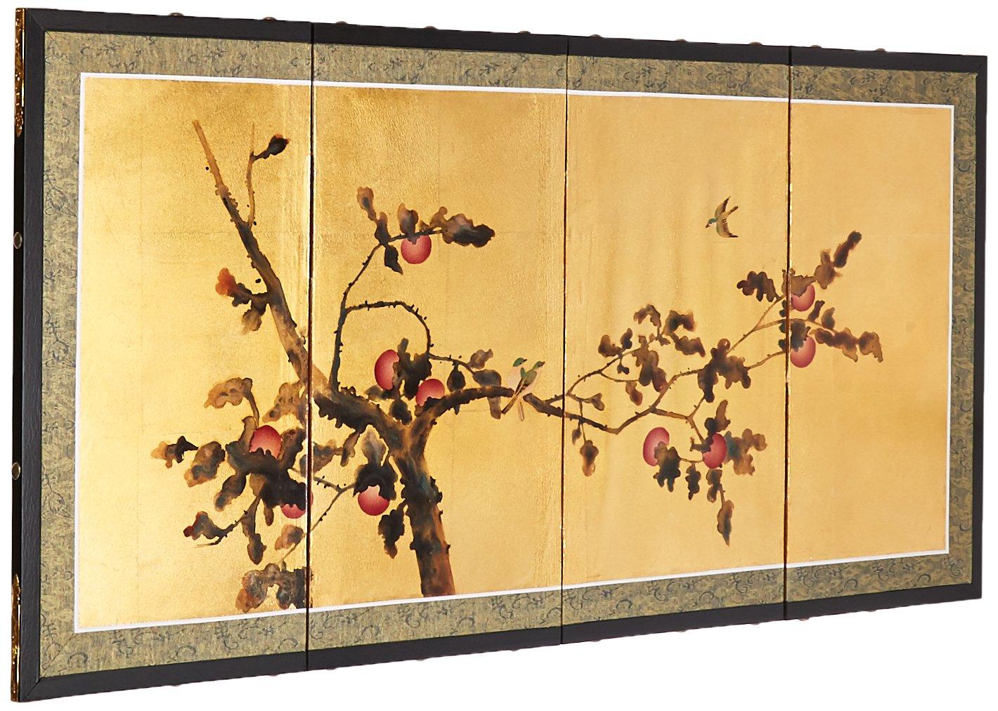 Amazon.com: Oriental Furniture Gold Leaf Cherry Blossom - 36\