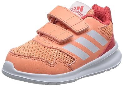 adidas Infants Girls Running Shoes Kids Altarun Cloudfoam Training DA8880 (US 5.5K) Orange