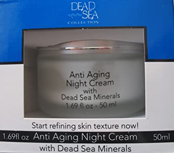 Dead Sea Anti-aging Night Cream with Dead Sea Minerals 1.69 Fl. Oz.