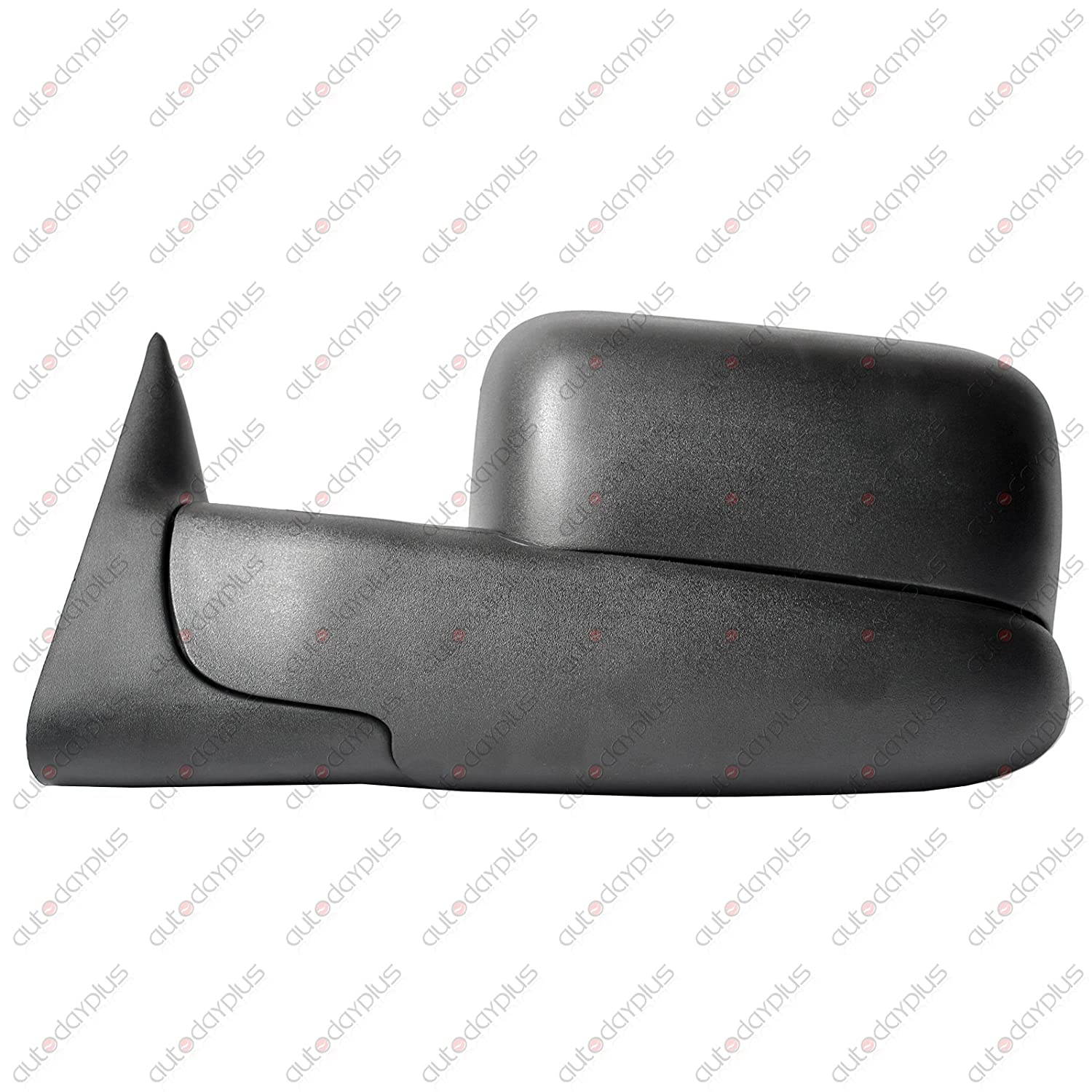 Spec-D Tuning RMX-RAM94-M-FS Dodge Ram 1500 2500 3500 Manual Tow Towing Fold Out Black Side Mirrors