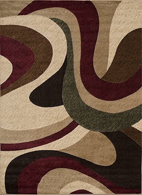 Amazon Com United Weavers Of America 710 Chimera Rug Multicolor