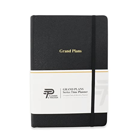 grand plans full year time planner 480 pages undated design for full flexibility daily