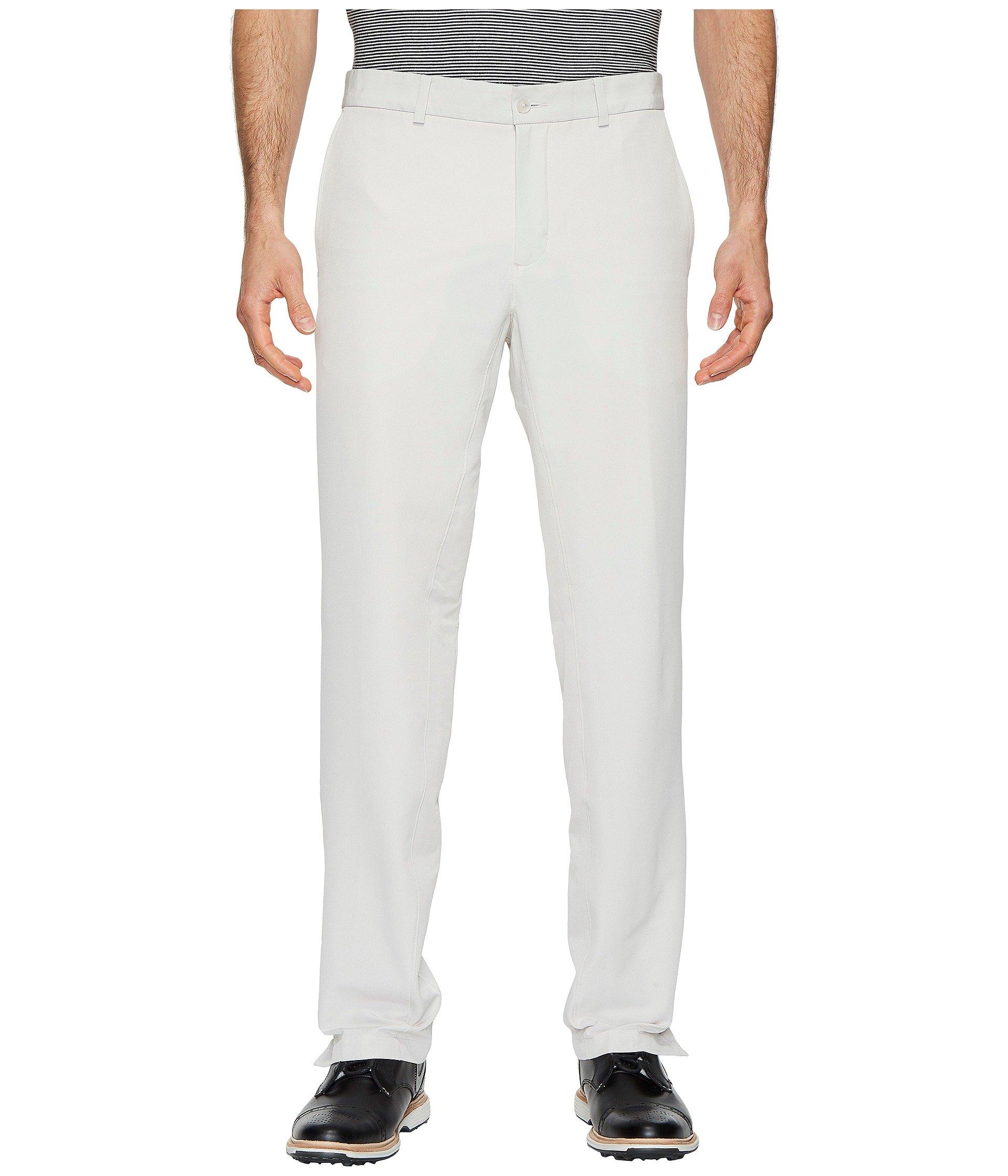 NIKE Men's Flex Hybrid Golf Pants, Light Bone/Light Bone, Size 33/34 by Nike