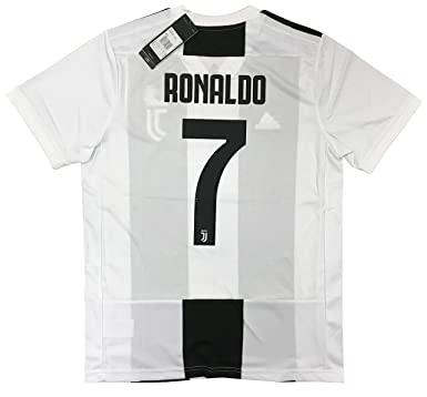 LiveSport New 2018 2019 Ronaldo #7 Juventus Men's Home Jersey