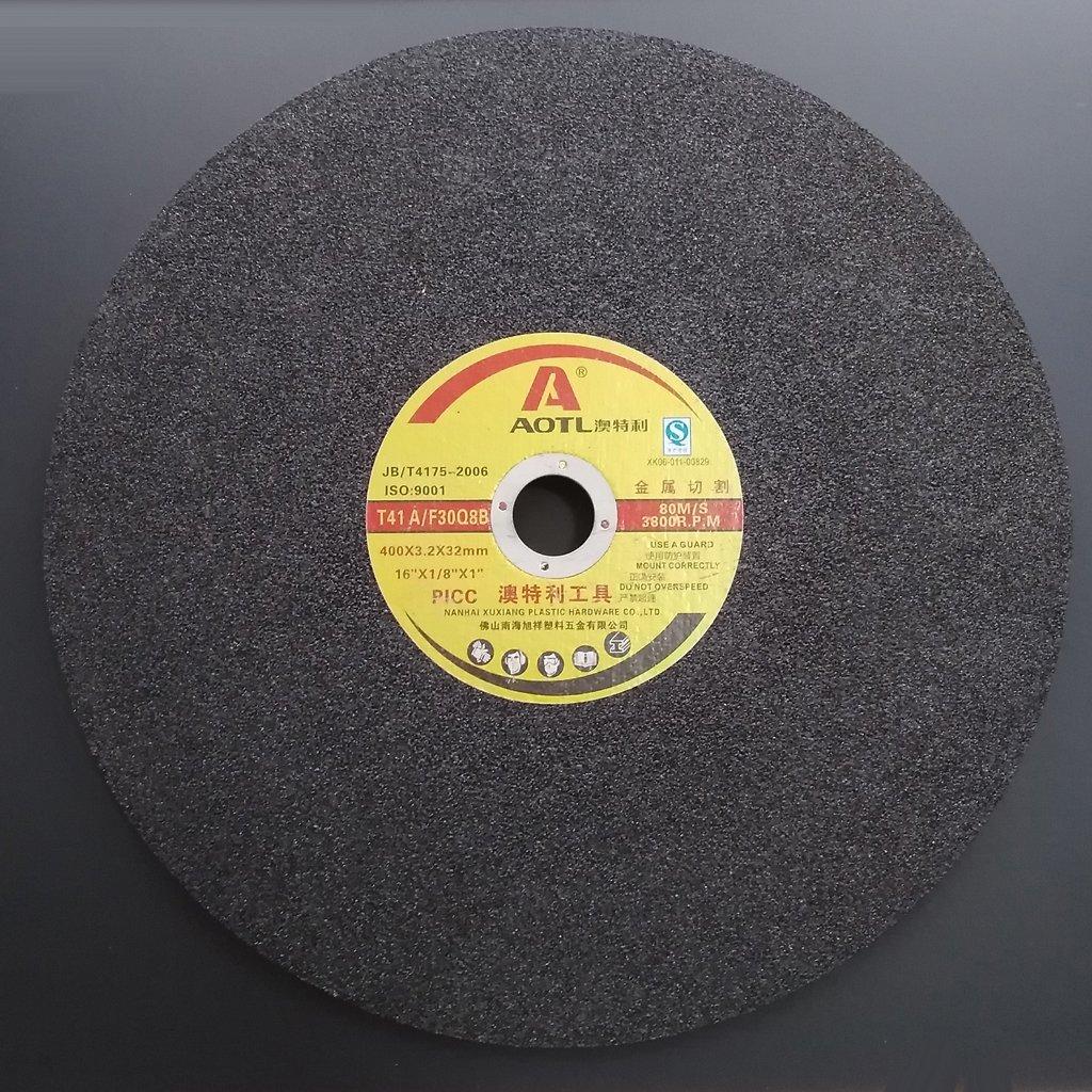 Baoblaze Scie /à Tron/çonner En M/étal Coup/é Meuleuse Circulaire Pour M/étal 400x3.2x32mm