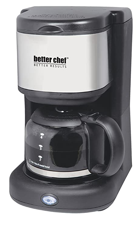 Amazon.com: Mejor Chef im-104s mejor Chef 4-Cup Coffee Maker ...