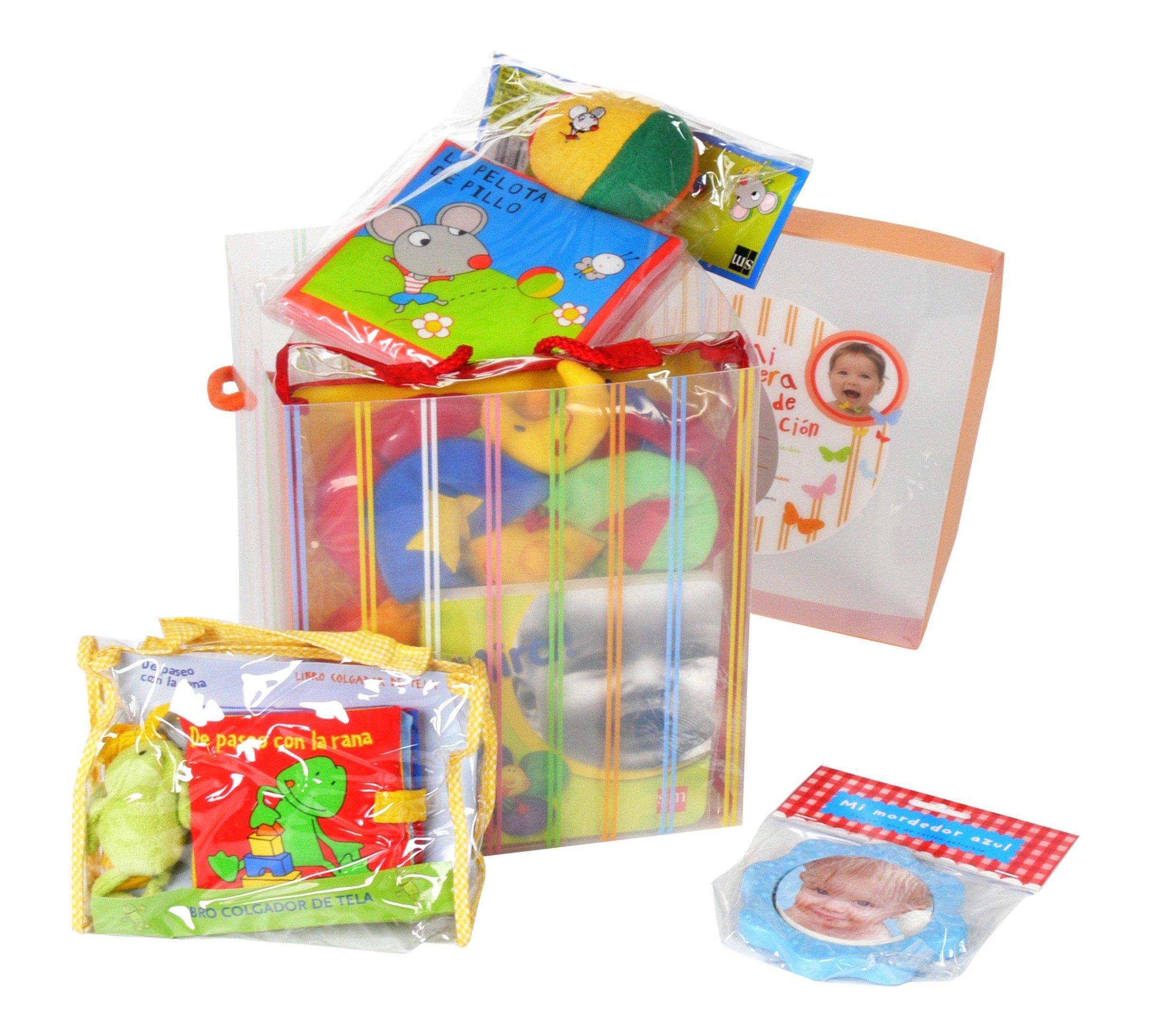 Caja regalo de 0 a 18 meses. Primeros descubrimiento y estimulos (Spanish) Paperback – 2009