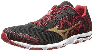 Mizuno Men's Wave Hitogami 2 Running Shoe,Black Gold,10 ...