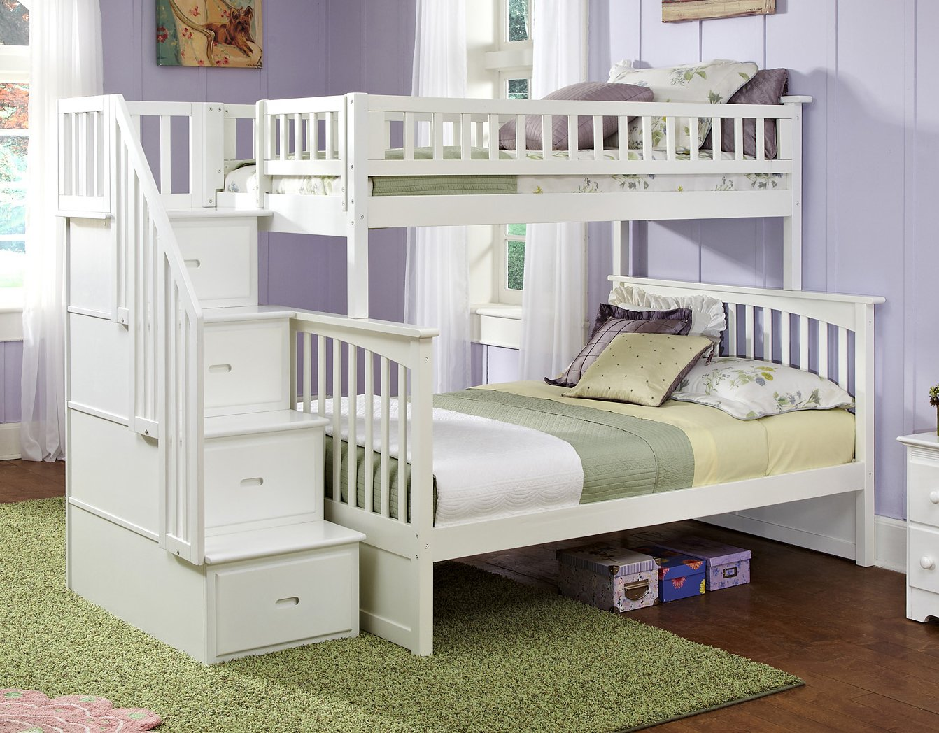build with love bunk bed full a beds over wooden www twin stairs