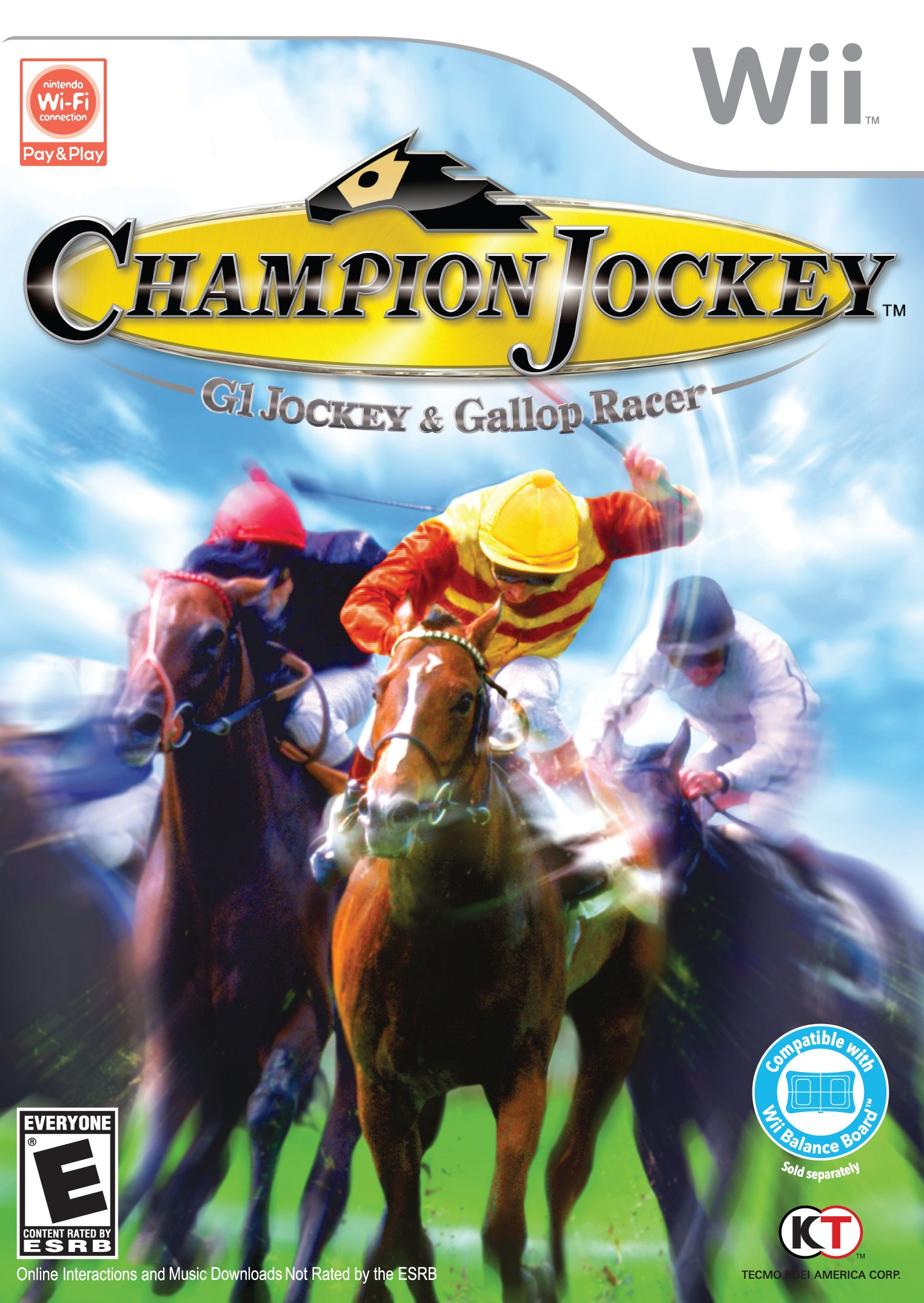 Champion Jockey: G1 Jockey and Gallop Racer - Nintendo Wii