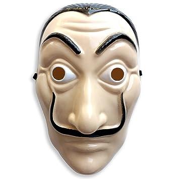 Máscara rígida de Dali de la CASA de Papel, ideal para el disfraz de CASA