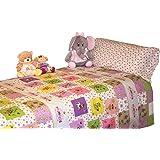 Juego de sábanas infantiles Princesas LITTLE PRINCESS (para cama de 90x190/200)