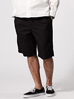 Broadcloth Pleated Shorts 11-25-0806-730: Navy