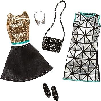 Amazon.es: Barbie Fashion Glamour - Juego de 2 Unidades, Color ...