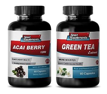 Amazon Com Fat Loss Diet Pills Acai Berry Green Tea Combo