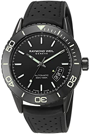 amazon com raymond weil men s freelancer swiss automatic