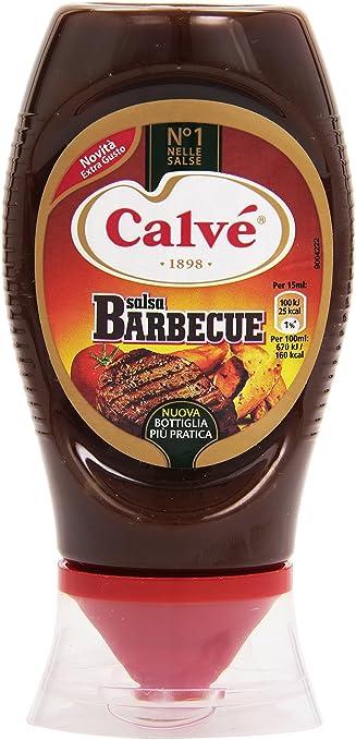 8 opinioni per Calvé- Salsa Barbecue- 4 confezioni da 285 g (250 ml) [1140 g, 1000 ml]