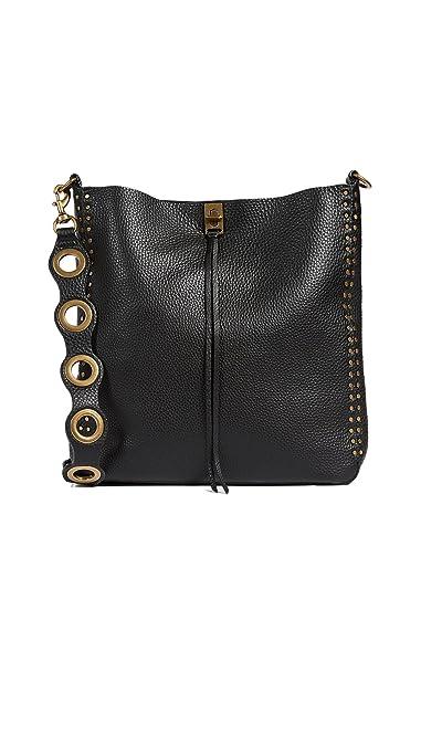 37f4d6ef5 Amazon.com: Rebecca Minkoff Women's Darren Feed Bag, Black, One Size ...