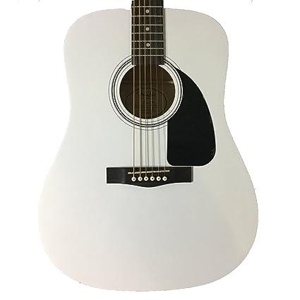 Fender guitarra acústica edición limitada blanco FA-100: Amazon.es ...