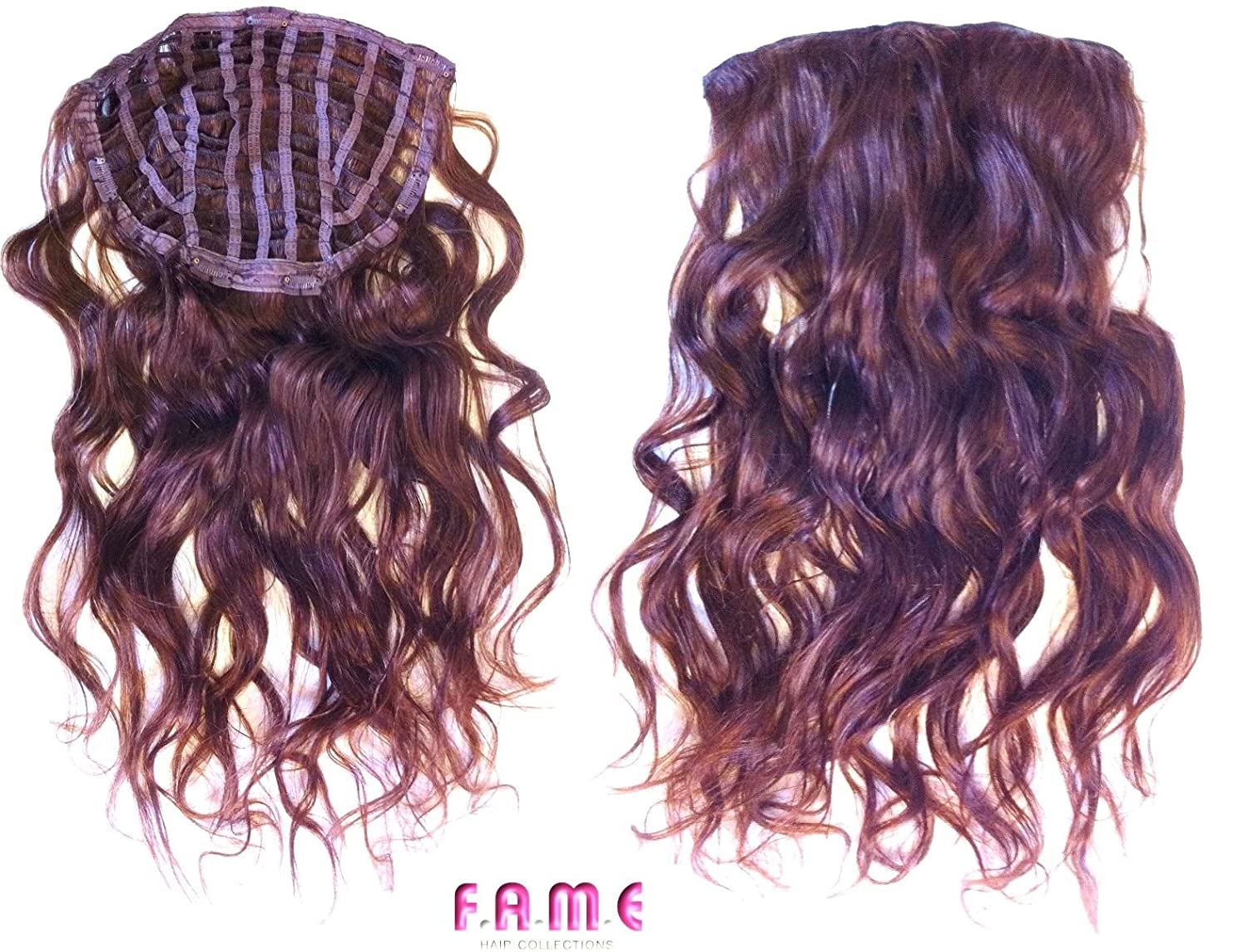 Fame Hair Extensions One Piece Remy 100 Human Clip In Hair