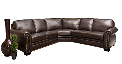 leather sectional couches. Delighful Couches Abbyson Living Berkshire Italian Leather Sectional Sofa For Couches N
