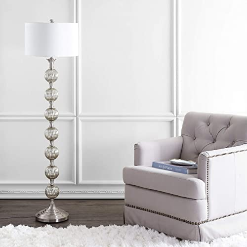 JONATHAN Y JYL1019A Oslo 60.5″ Glass/Metal LED Floor Lamp Contemporary,Transitional