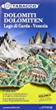 Dolomites / Lake Garda / Venice road map & panoramic map