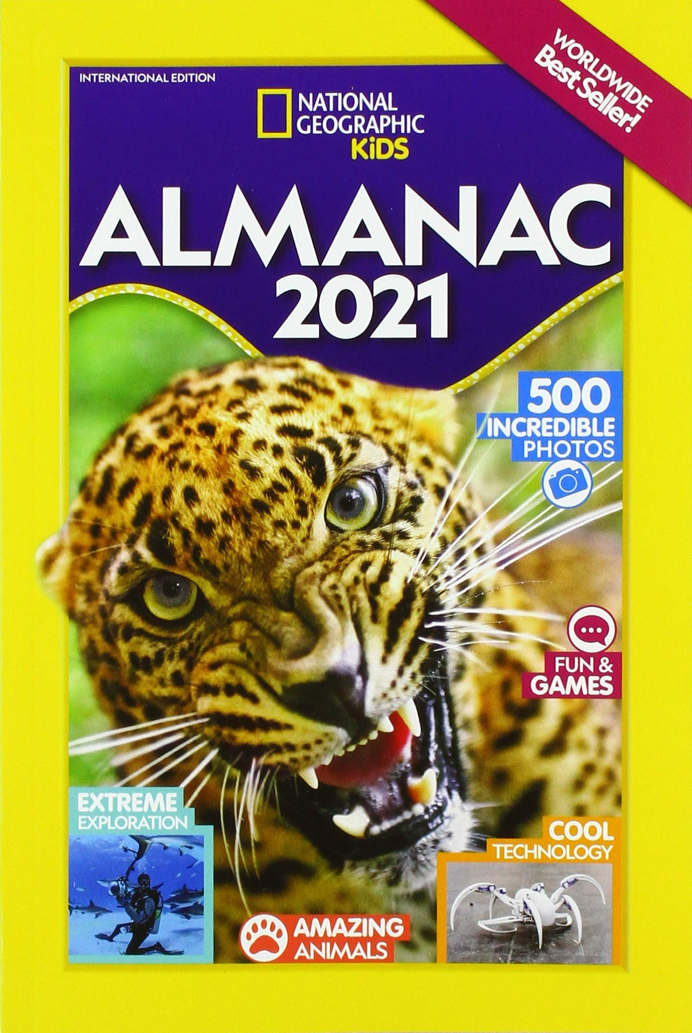 Nytimes Best Sellers 2021 National Geographic Kids Almanac 2021 International Edition