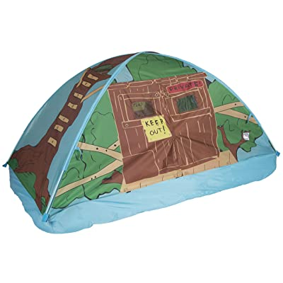 Pacific Play Tents 19790 Kids Tree House Bed Tent Playhouse - Twin Size: Toys & Games