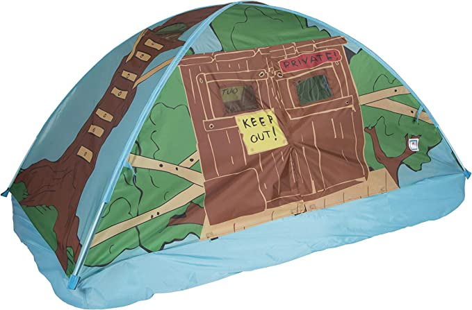 Twin Size Pacific Play Tents 19710 Kids Rad Racer Bed Tent Playhouse