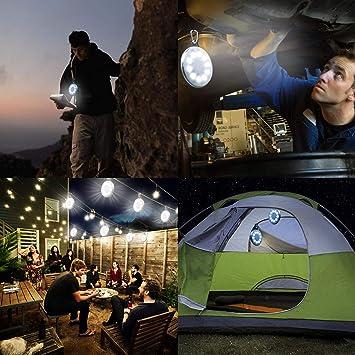 Exterior Funciona Con Energ/ía Solar Luz Luz De Emergencia para Camping Pesca Aidier Hinchable Solar Farol De Camping Senderismo Picnic