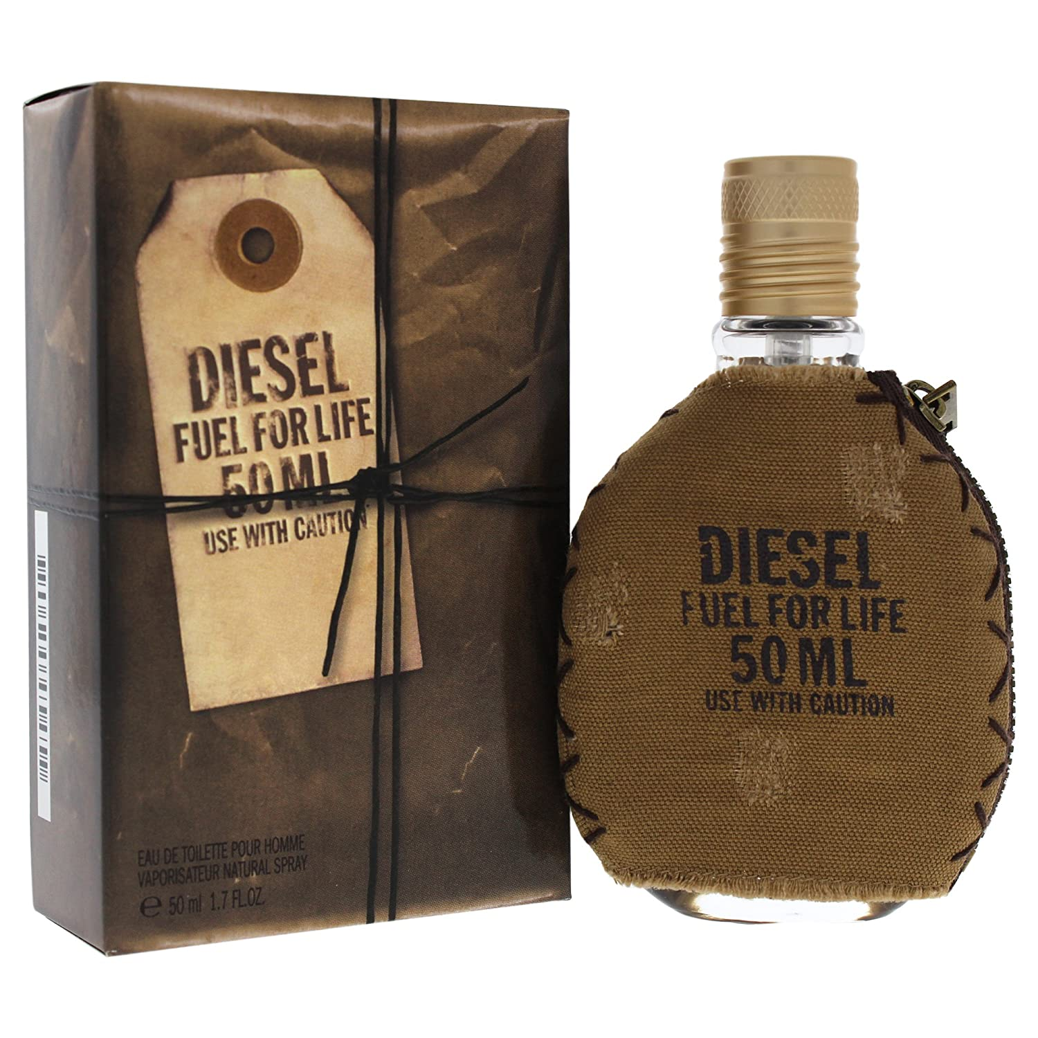 Diesel Fuel for Life for Men 1.7-Ounce Eau De Toilette Spray DIESEL-386442 P-D1-404-50_-50ml