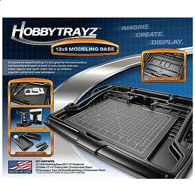 HobbyTrayz 12x9 Modeling Base: Toys & Games