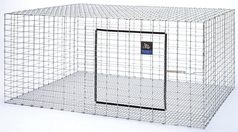 Amazon.com : Galvanized Rabbit Hutch Size: 30\