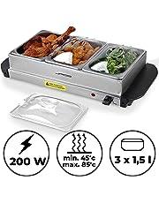 Jago - Calentador de comida - servidor para buffet - tamaño y set a elegir