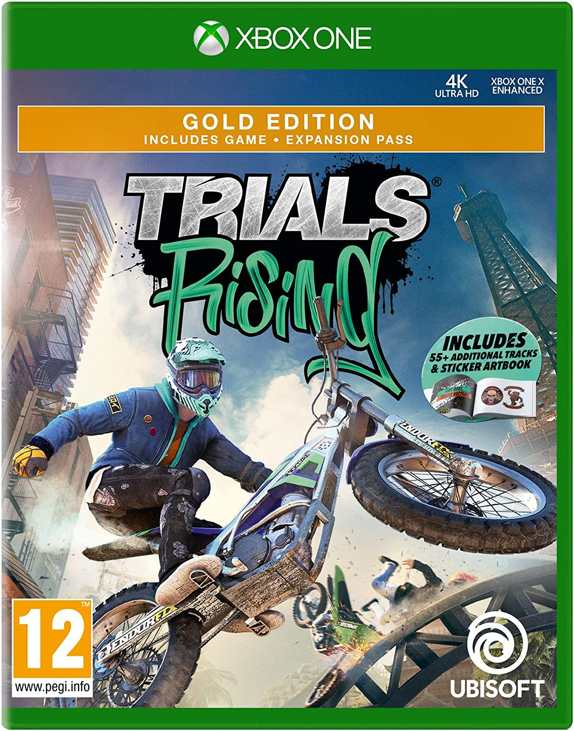 Trials Rising - Gold Edition (Includes 55+ Additional Tracks ...