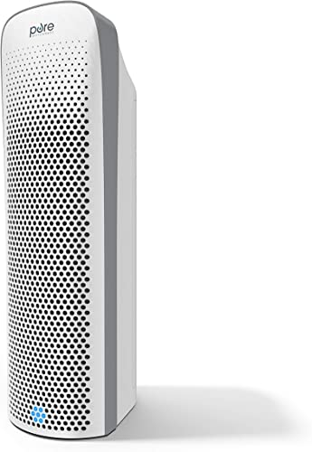 Pure Enrichment PureZone Elite 4-in-1 Air Purifier – True HEPA Filter UV-C Sanitizer Cleans Air, Helps Alleviate Allergies, Eliminates Germs, Removes Pet Hair Smoke for Home, Office Bedroom