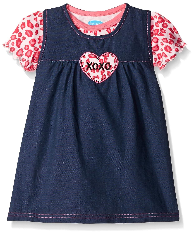 ファッションなデザイン Bon Bebe B01B4VHK24 DRESS Bebe ベビーガールズ 18 Months ピンクレオパード Months B01B4VHK24, 子供服CHILD CHARM:3007d4fb --- mail.mrplusfm.net