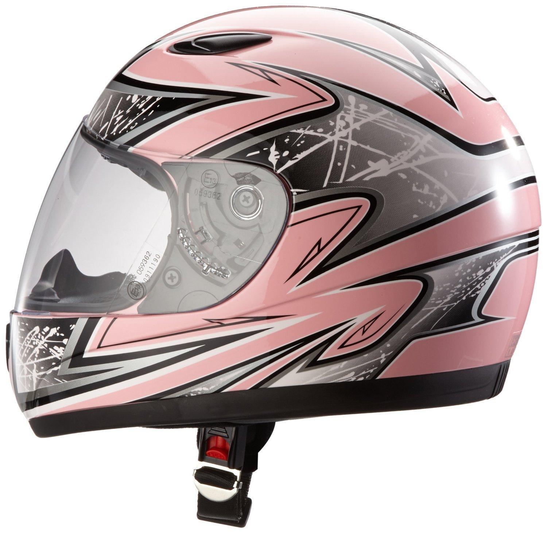 Protectwear SA03 PK XXXS Kinder Motorradhelm Integralhelm Größe XXXS Youth S Pink Silber Amazon Auto