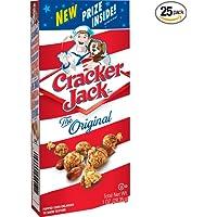 25-Pack Cracker Jack Original Caramel Coated Popcorn & Peanuts