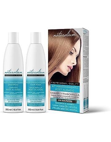 Naturalium Kit Post Alisado Brasileño - Productos de Mantenimiento del Pelo Liso para Mujer con Champú