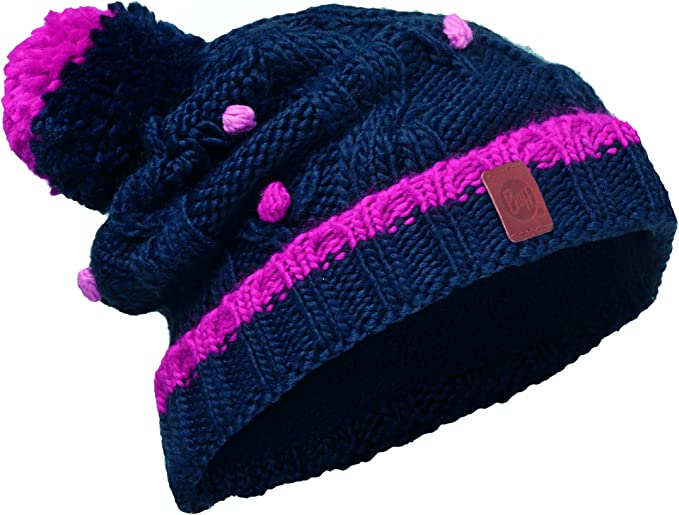 Buff Girls Knitted and Polar Hat