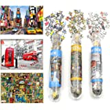 Small Jigsaw Puzzles for Adults Challenging Puzzle Difficult Puzzles 150 Pieces Mini Jigsaw Puzzles London Time Square…
