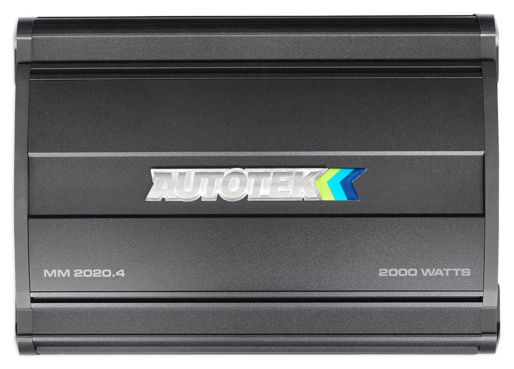 Autotek MM2020.4 Mean Machine 2000W 4 Channel Bridgeable Amplifier Car Audio Amp