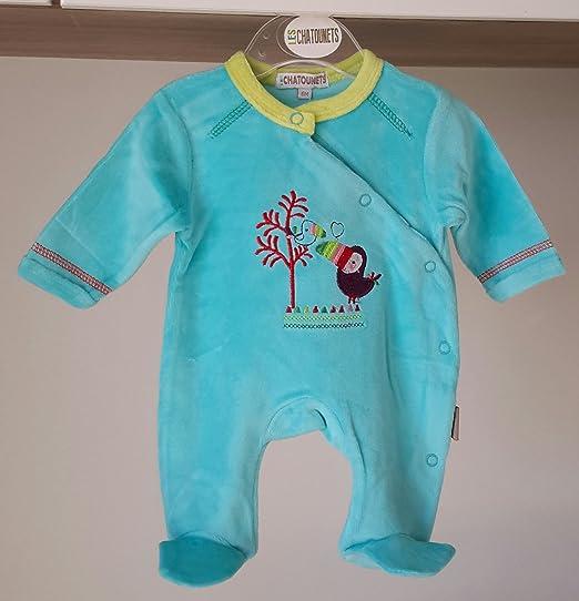 Pijama Turquesa 0/1 Mes Talla:0 meses